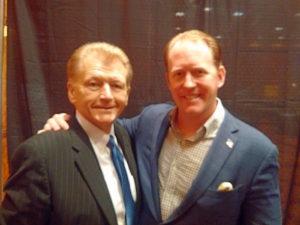 Ruta and SEAL Robert O'Neill in Omaha - 2015 09 22